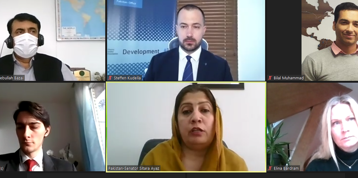 The Hanns Seidel Foundation (HSF) Pakistan in collaboration with HSF Brussels and the Senate of Pakistan organized a virtual delegation trip for Senators to the European Union (EU) on sustainable development including climate change on 27 and 29 January 2021.