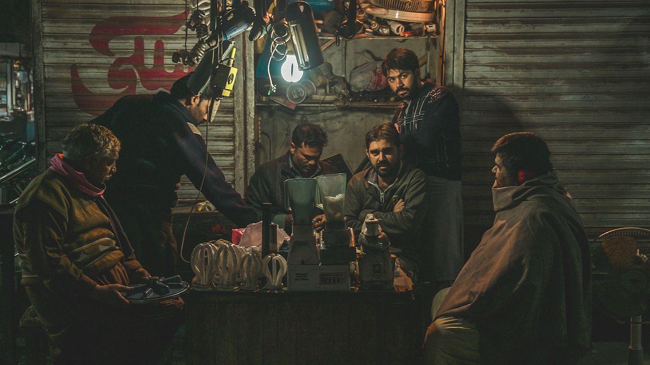 Men in Faisalabad, Pakistan