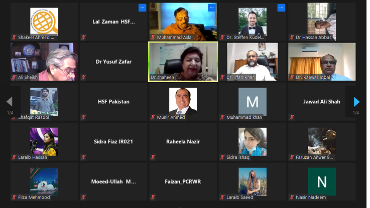 """The Islamabad-based think-tank Center for Global & Strategic Studies (CGSS) and the Hanns Seidel Foundation (HSF) Pakistan jointly organized an online roundtable discussion on the topic of """"Climate Change as a Non-traditional Security Challenge: Relevance for Pakistan"""" on 2nd June 2021."""